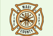 Maui Fire Dept Logo