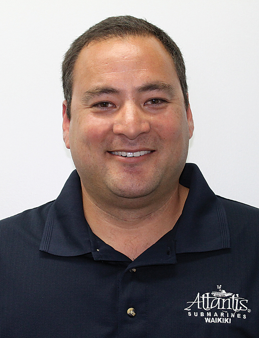 Melvin Baum promoted to Oahu Operations Manager at Atlantis Adventures.