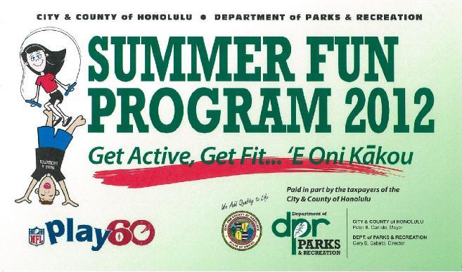 Summer fun oahu