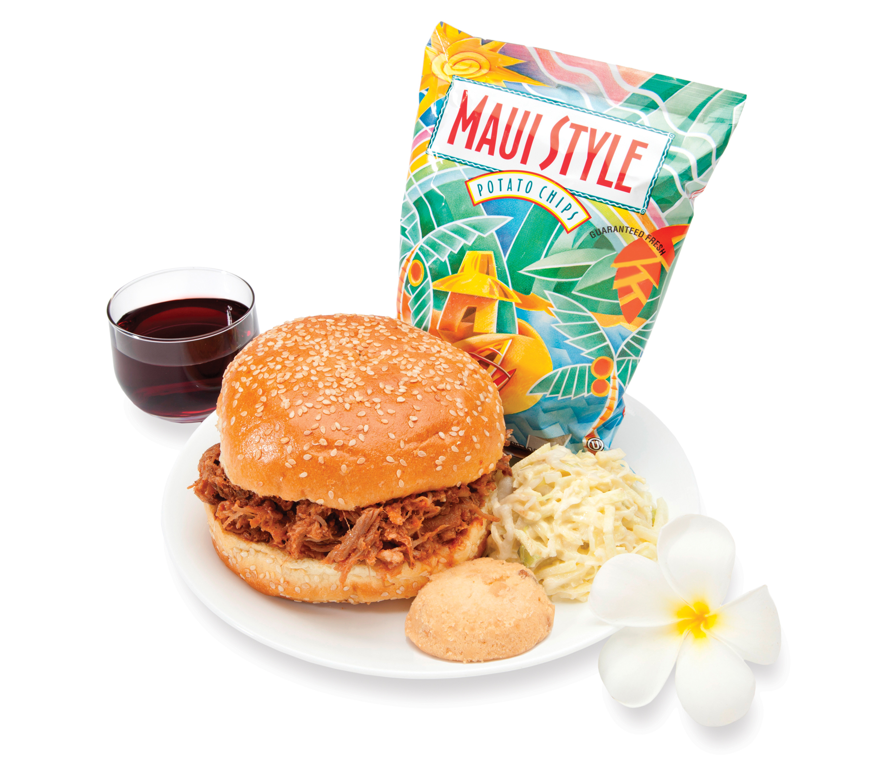 This is one of the new Premium Meals for purchase that reflects Hawaiian's focus on showcasing the unique tastes of Hawaii.