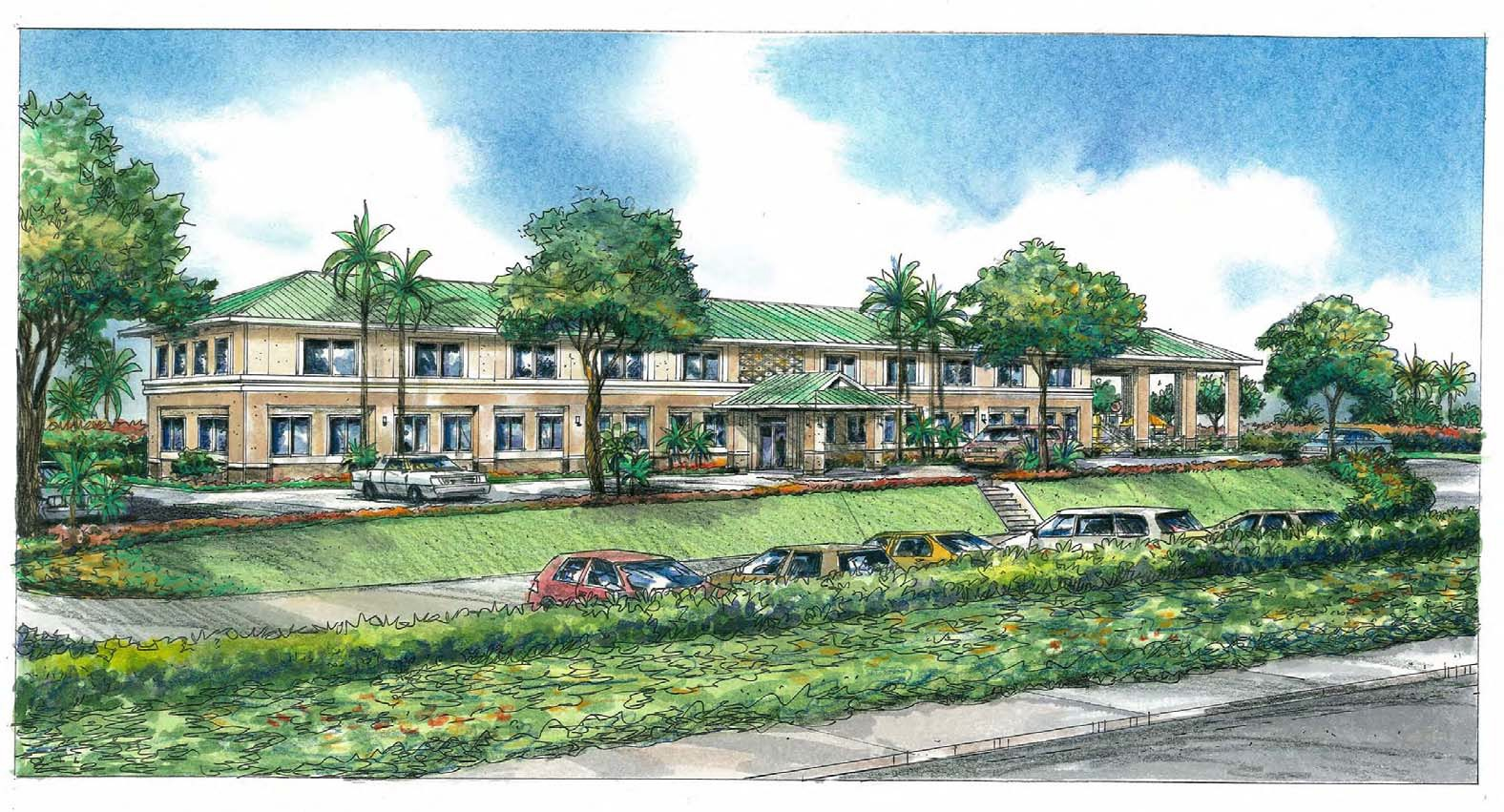 Easter Seals Hawaii Maui Campus Rendering