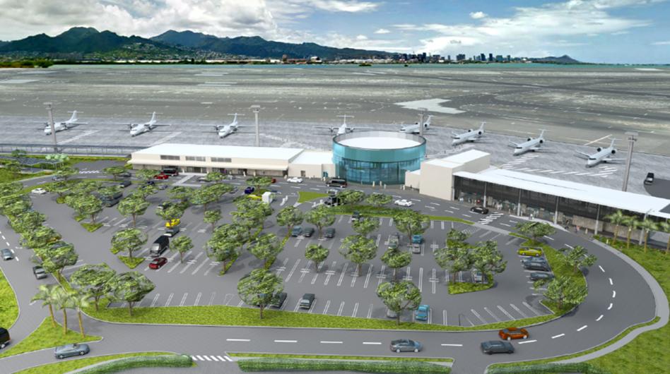 HNL Diamond Head Commuter Terminal