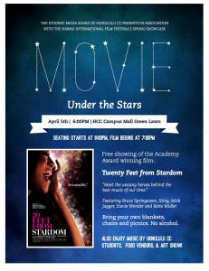 Free movie event at Honolulu CC.