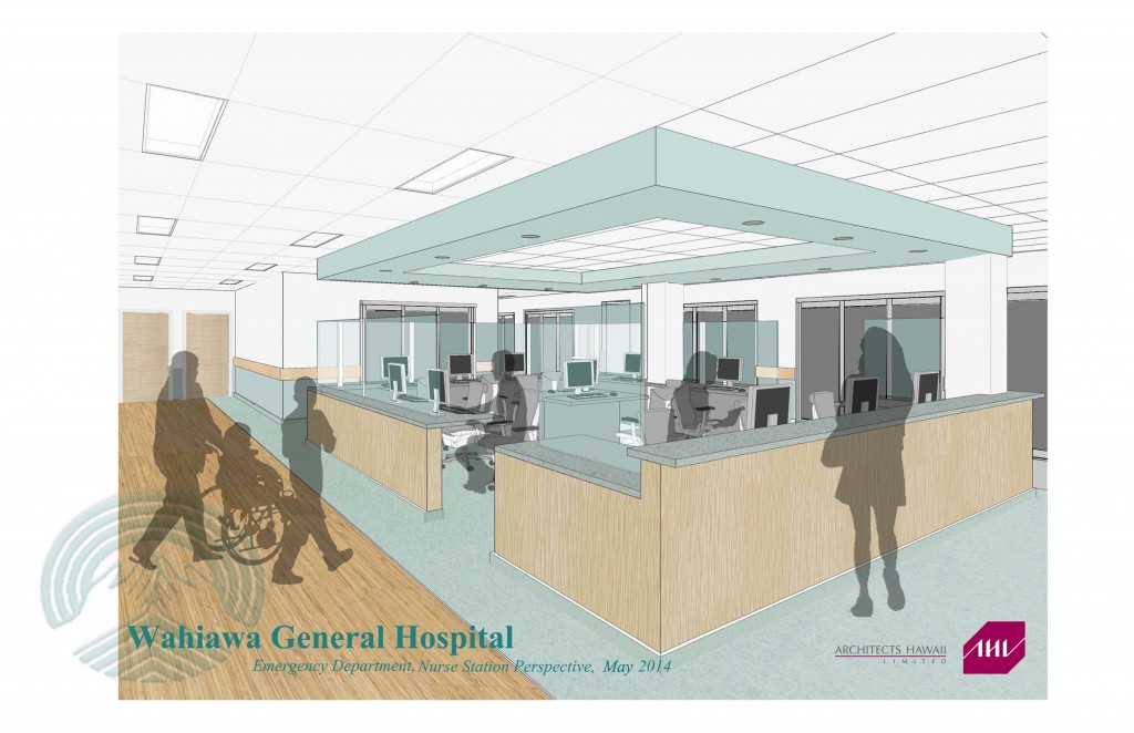 Nurse Station Rendering