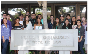 High school students begin free summer legal program at UH Law School