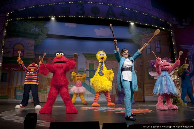 Sesame Street Live! photos courtesy of VStar Entertainment Group""