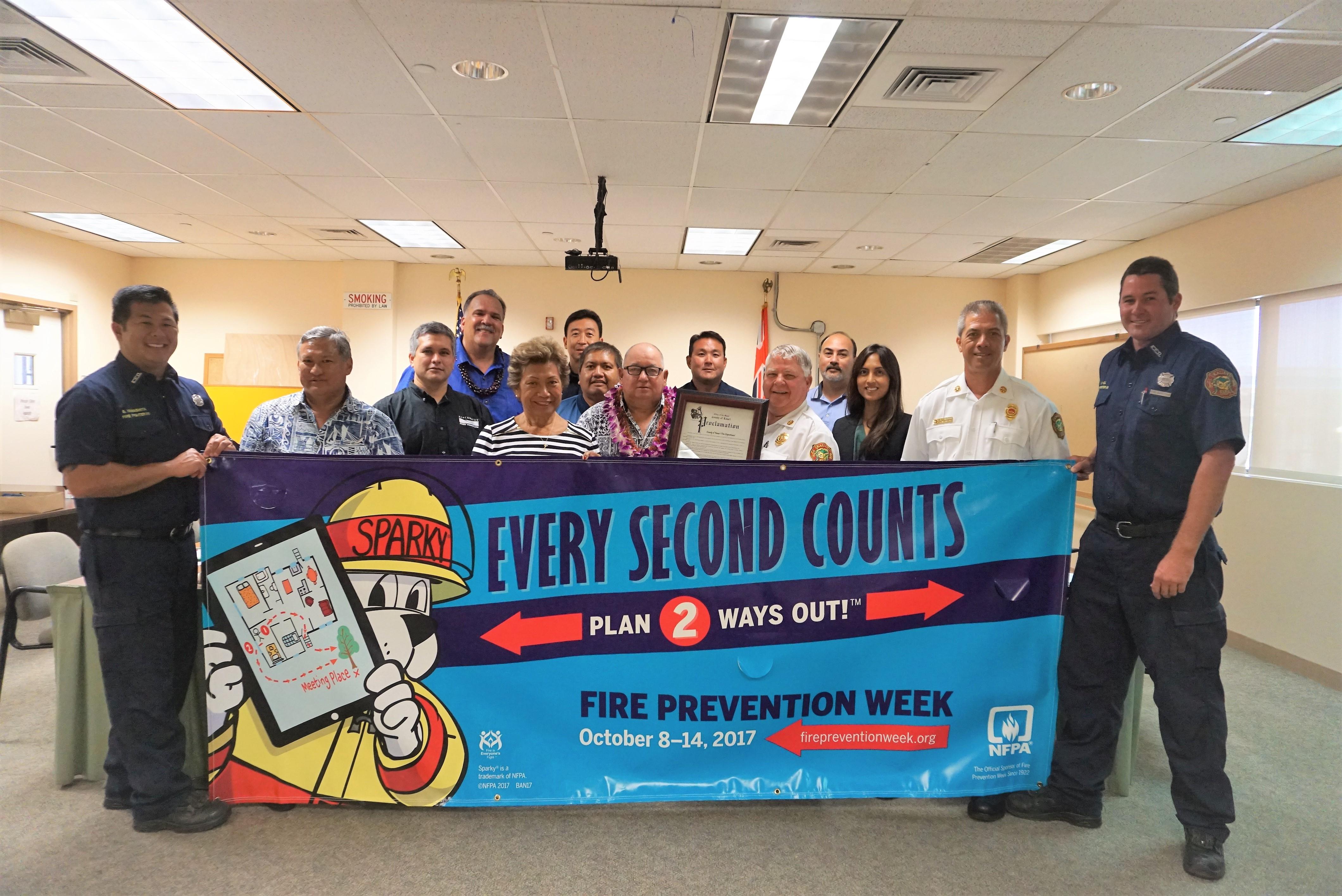 Fire Prevention Week 2017
