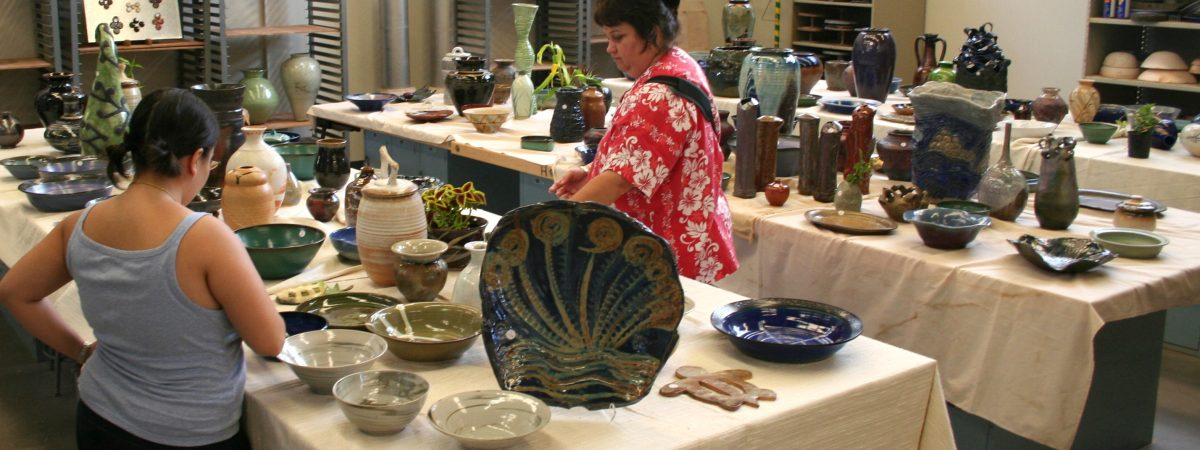 WCC Ceramics Club Pottery sale