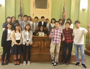 Japan Law Students and Faculty Learn About American Justice System at UH Law School