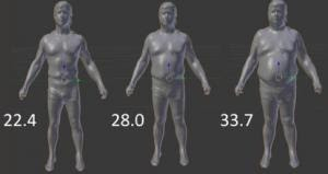3D Scanners Give New Insight to Body Shape and Health