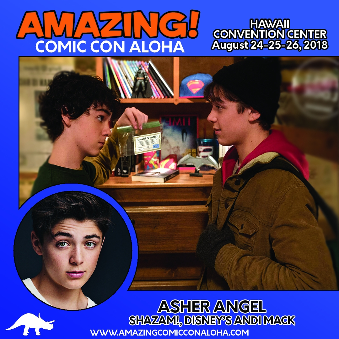 ASHER ANGEL HI Card 2018
