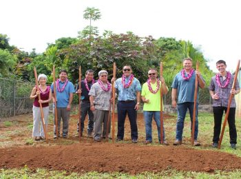 Blessing Held for DOW's Kapa'a Homesteads Well No. 4 Project