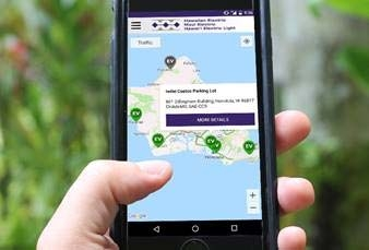Hawaiian Electric Mobile App Now Shows Where to Find an EV Fast Charger and More