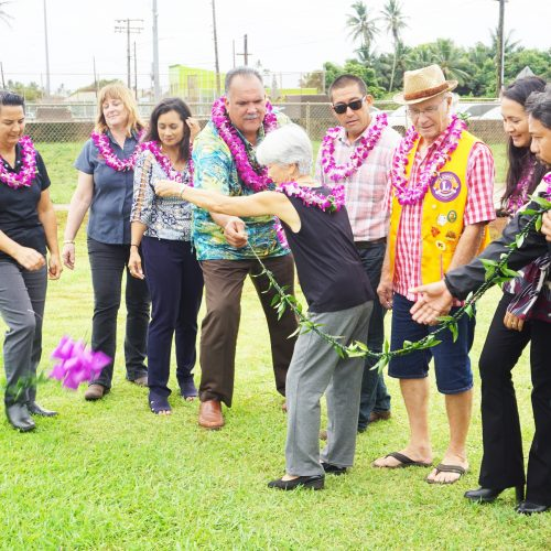 Blessing Held for Phase Four of Islandwide Bus Shelter Project