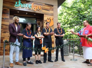 ShoreFyre Fresh Grill & Bar opens second Waikiki location at International Market Place