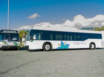 New Maui Buses Blessed; Two Eldorado Transit Buses Replacing Long-Haul Fleet Buses