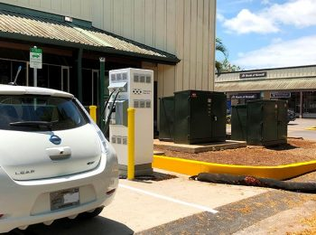 Haleiwa Joins Hawaiian Electric's EV Fast Charger Network