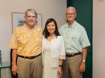 Former Hawaii Executive Bob Clarke Establishes $100,000 Scholarship Endowment at Shidler