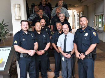 KPD Participates in 'No-Shave November'