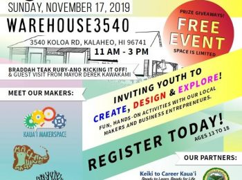 Youth Maker Day Set for Nov. 17