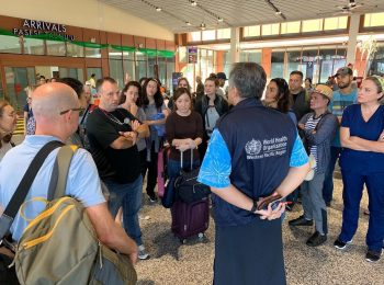 Hawaii's Lieutenant Governor Green Leads Medical Mission to Samoa in Response to Measles Outbreak