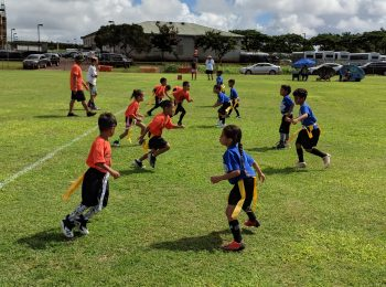 K-PAL flag football at Vidinha Stadium Expansion Field