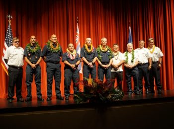 KFD Promotes 5 Firefighters at Special Ceremony Tuesday