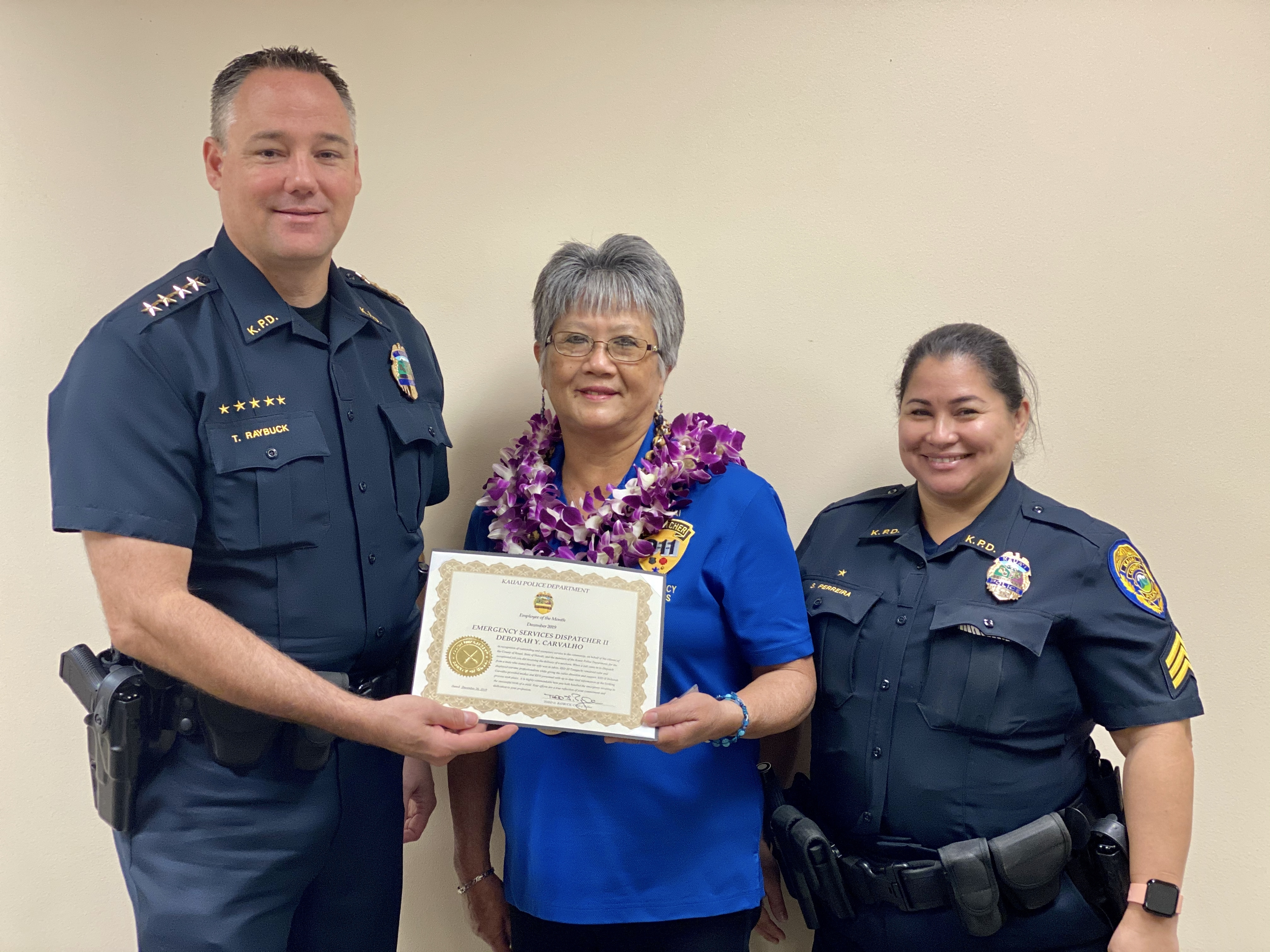 KPD Disptachers Honored