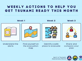 April is Tsunami Awareness Month in Hawai'i