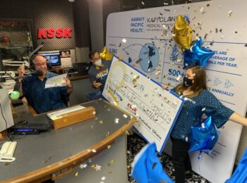 2021 KAPI'OLANI RADIOTHON FOR KIDS BREAKS EVENT RECORD BY RAISING MORE THAN HALF A MILLION DOLLARS IN TWO DAYS